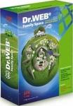 Dr.Web Family Space, лицензия на 1 год на 3ПК