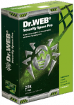 Dr.Web Security Space Pro, лицензия на 1 год на 2 ПК